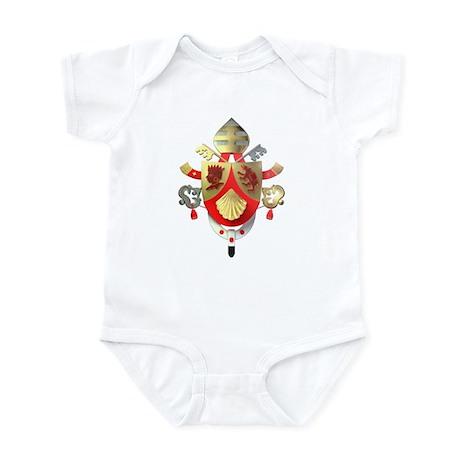 Benedict XVI Coat of Arms Infant Bodysuit
