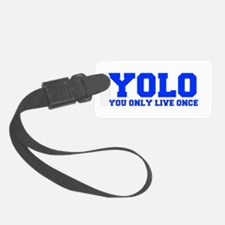 YOLO-FRESH-BLUE Luggage Tag