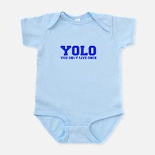 YOLO-FRESH-BLUE Body Suit