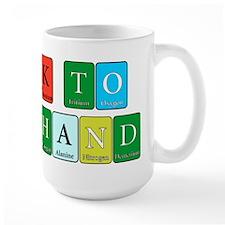Talk to the hand Mugs