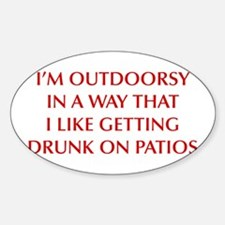 IM-OUTDOORSY-OPT-DARK-RED Decal