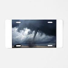 Tornado Aluminum License Plate