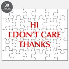 HI-I-DONT-CARE-OPT-RED Puzzle