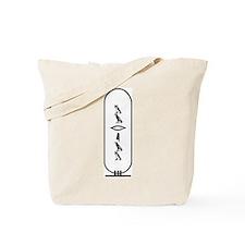 """Mariam in Hieroglyphics """"Blac Tote Bag"""