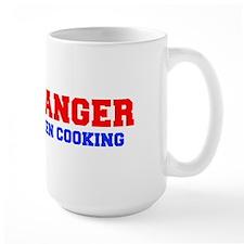 DANGER-MEN-COOKING-FRESH-RED-BLUE Mugs