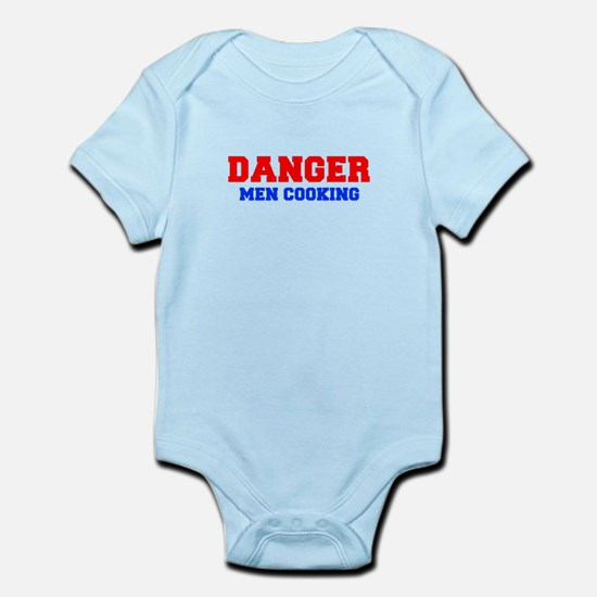 DANGER-MEN-COOKING-FRESH-RED-BLUE Body Suit