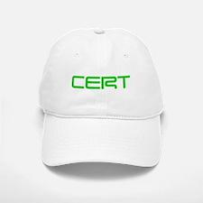 CERT-SAVED-GREEN Baseball Baseball Baseball Cap