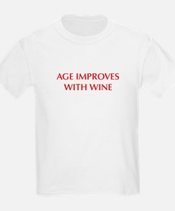 AGE-IMPROVES-OPT-DARK-RED T-Shirt
