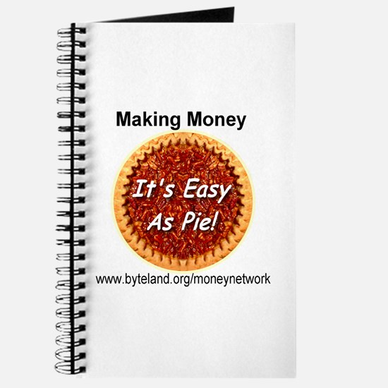 Making Money It's Easy As Pie Journal