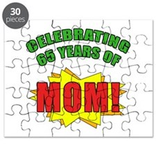 Celebrating Mom's 65th Birthday Puzzle