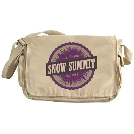 Snow Summit Ski Resort California Purple Messenger