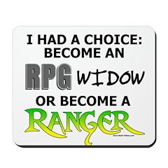 RPG Widow: Ranger  Mousepad