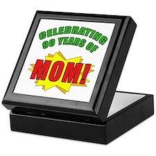 Celebrating Mom's 90th Birthday Keepsake Box