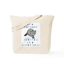 I'm a Raccoon Tote Bag