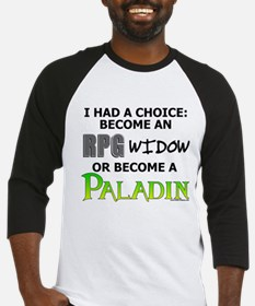 RPG Widow: Paladin<br> Baseball Jersey