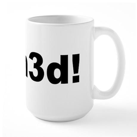Pwn3d! Large Mug