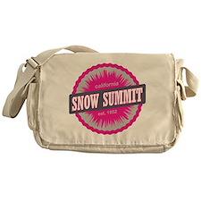 Snow Summit Ski Resort California Pink Messenger B