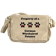 Property Of A German Wirehaired Pointer Messenger