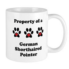 Property Of A German Shorthaired Pointer Mugs