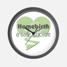 Homebirth Choice Wall Clock
