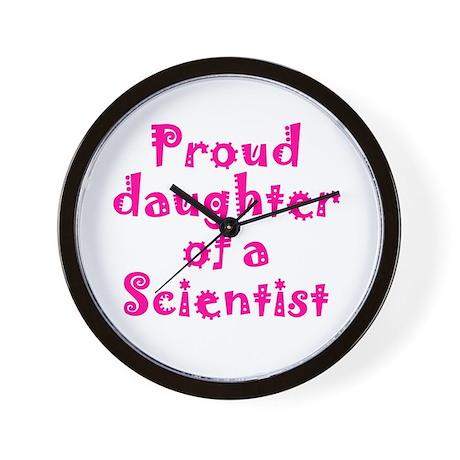 Proud Daughter Wall Clock