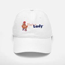She's a Lady2 Baseball Baseball Cap