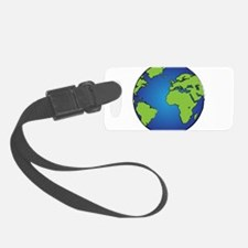 Earth, Planet, Earth Day, Environment Luggage Tag