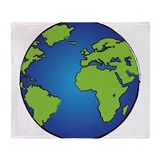 Earth, Planet, Earth Day, Environment Throw Blanke