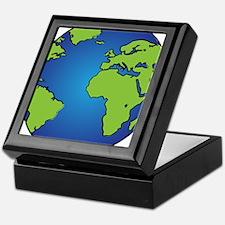 Earth, Planet, Earth Day, Environment Keepsake Box
