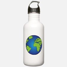 Earth, Planet, Earth Day, Environment Water Bottle