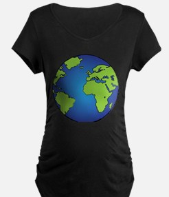 Earth, Planet, Earth Day, Environment Maternity T-