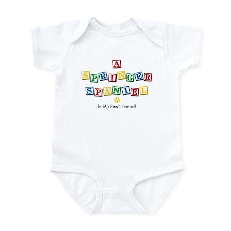 Springer Spaniel Infant Bodysuit