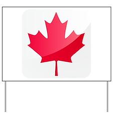 Canada, Flag, Canadian, Maple Leaf Yard Sign