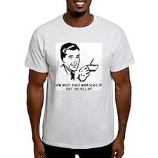 STHU Ash Grey T-Shirt