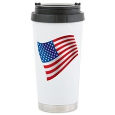 USA, America, Flag, Patriotic Travel Mug