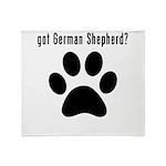 got German Shepherd? Throw Blanket