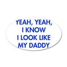 YEAH-DADDY-FUT-BLUE Wall Decal