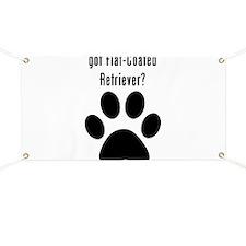 got Flat-Coated Retriever? Banner