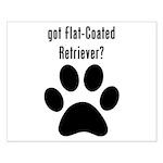 got Flat-Coated Retriever? Posters