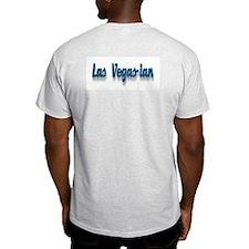Las Vegas-ian Ash Grey T-Shirt