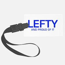 LEFTY-EURO-BLUE Luggage Tag