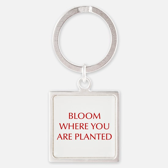 BLOOM-OPT-RED Keychains