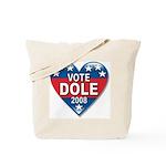 Vote Elizabeth Dole 2008 Political Tote Bag