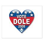 Vote Elizabeth Dole 2008 Political Small Poster