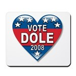 Vote Elizabeth Dole 2008 Political Mousepad