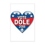 Vote Elizabeth Dole 2008 Political Mini Poster Pri
