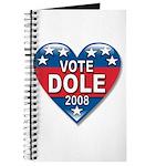 Vote Elizabeth Dole 2008 Political Journal