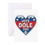 Vote Elizabeth Dole 2008 Political Greeting Cards