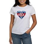 Vote Elizabeth Dole 2008 Political Women's T-Shirt