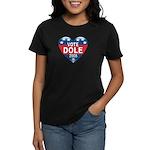 Vote Elizabeth Dole 2008 Political Women's Dark T-